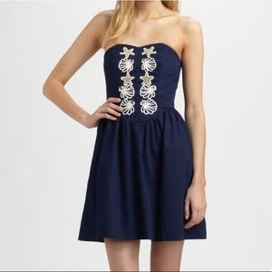 Lilly Pulitzer Mayfield Navy Nautical Dress 4